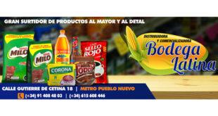 Bodega Latina - Paquetería Rapidex