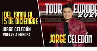 Jorge Celedón Tour Europa 2021 Vallenato Revista Guíame venta de entradas